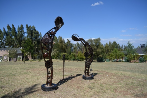 Tafaria Castle, Maggie Otieno, Artouch Projects, Kenyan art, art in kenya, Public art kenya